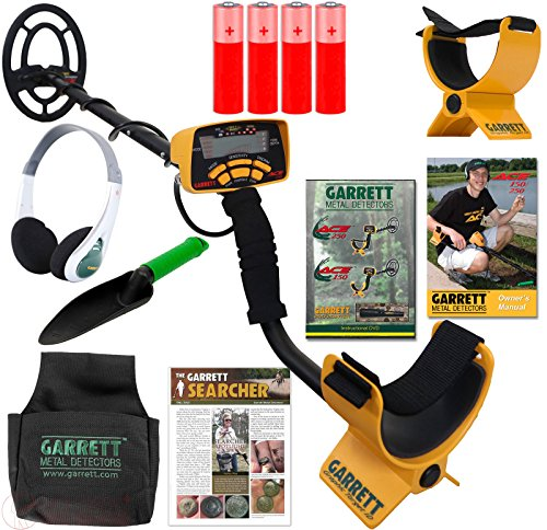 ACE 250 METAL DETECTOR TREASURE HUNTER PACK BY GARRETT Outdoor, Home, Garden, Supply, Maintenance
