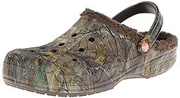 crocs Men\'s 15845 Baya Lined Clog,chocolate/chocolate,7 M US