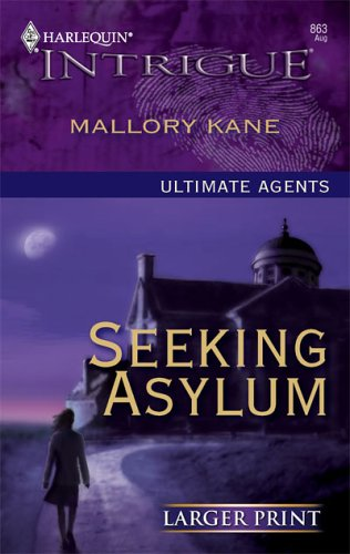 Image for Seeking Asylum (Larger Print Intrigue)