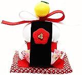 正月飾り 紅梅鏡餅
