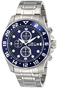 Invicta Men's 15939 Specialty Analog Display Japanese Quartz Silver Dive Watch by Invicta