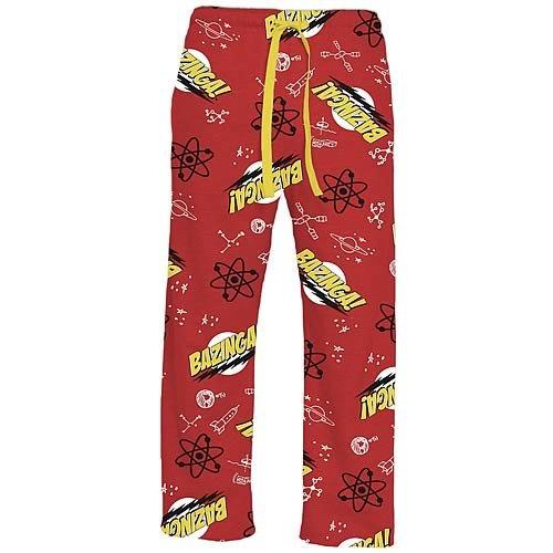 Big Bang Theory Bazinga! Knit Sleep Pants