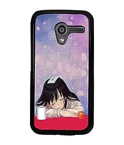 Printvisa 2D Printed Girly Designer back case cover for Motorola Moto X - D4613