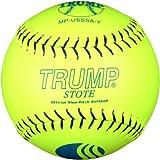 Trump® MP-USSSA-Y MP Series 12 Inch 40/325 USSSA Premium Grade Leather Softball (Sold in Dozens)