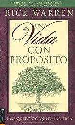 Una Vida con Proposito (Spanish Edition)