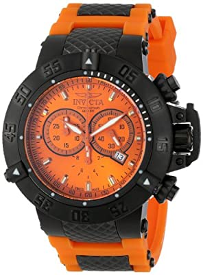 Invicta Men's 11836 Subaqua Noma III Analog Display Swiss Quartz Orange Watch