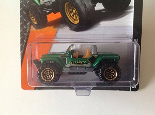 Matchbox MBX Explorers Jeep Hurricane Green #64/120 - 1