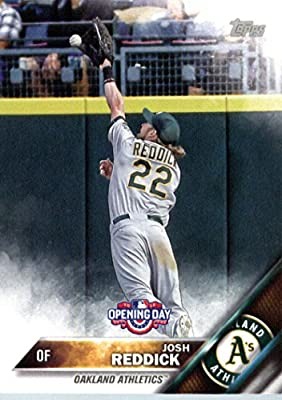 2016 Topps Opening Day #OD-33 Josh Reddick Oakland Athletics Baseball Card