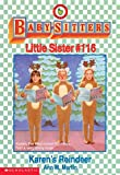 Karen's Little Sister (Baby-Sitters Little Sister #6) (0590442988) by Martin, Ann M.