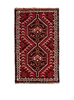 CarpeTrade Alfombra Persian Shiraz (Rojo/Multicolor)