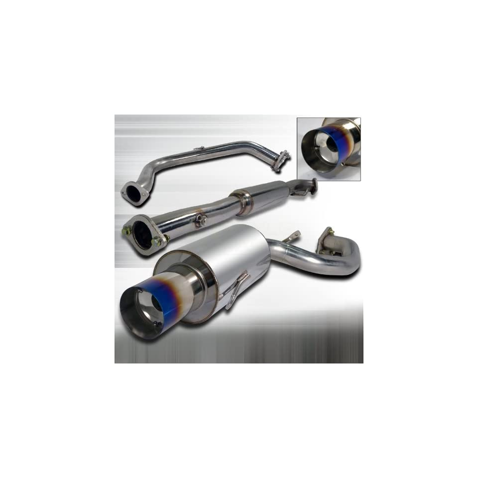 1995 1999 Mitsubishi Eclipse Non Turbo N1 style Catback Exhaust, Fits GSX except 4WD model