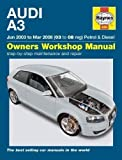 Audi A3 Petrol and Diesel Service and Repair Manual: 03 to 08 (Haynes Service and Repair Manuals) by Gill, Peter T. (2010)