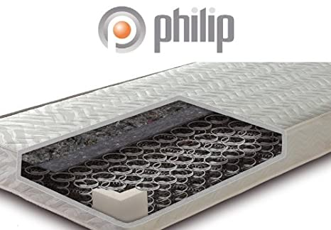 Philip Classic Primo Bonnell-Federkern-Matratze, Größe:180 x 200 cm;Härtegrad:H2