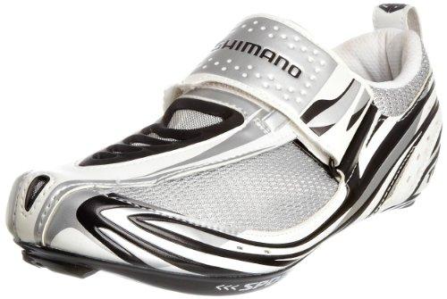 Shimano Men's TR52 White/Black Cycling Shoe BTR5245 9.5 UK