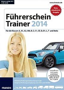 Führerschein Trainer 2014: Für die Klassen A, A1, A2, AM, B, C, C1, CE, D, D1, L, T  und Mofa