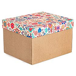 Floral Gold Gift Box