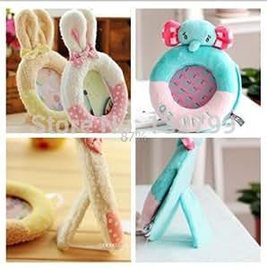 Favor Baby Shower Plush Picture Frames Rabbit/Elephant Style Gifs