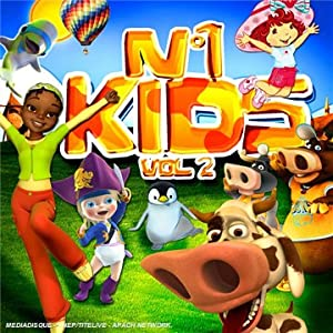 N°1 Kids /Vol.2 ( inclus 1 DVD de clips)