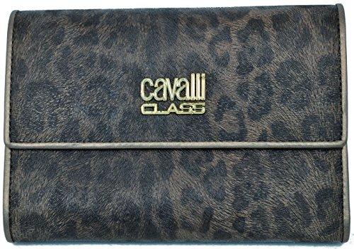 Portafoglio Roberto Cavalli Class Women Wallet ecopelle Bronzo Donna Portafogli