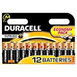 IChoose® AA Batteries / Battery Pack of 12 Duracell Simply Range LR6/MN1500 Economy for Radios, Remotes, Clocks Etc