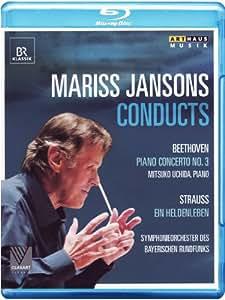 Mariss Jansons dirigiert Beethoven / Strauss (München 2011) [Blu-ray]