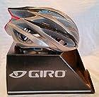 Giro Atmos (Import) Ultralight (250 Gram) Road Bike Helmet (Titanium Gray, Large)