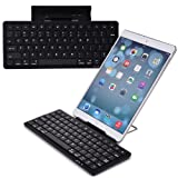 Cooper Cases(TM) K2000 Huawei MediaPad / 10 FHD / 10 Link / 10 Link+ Bluetooth Keyboard Dock in Black (English QWERTY Keyboard, 78 Laptop-Style keys, Built-in Viewing Stand, Android / iOS / Windows compatible)