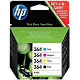 HP 364 Ink Cartridge Combo Content Pack