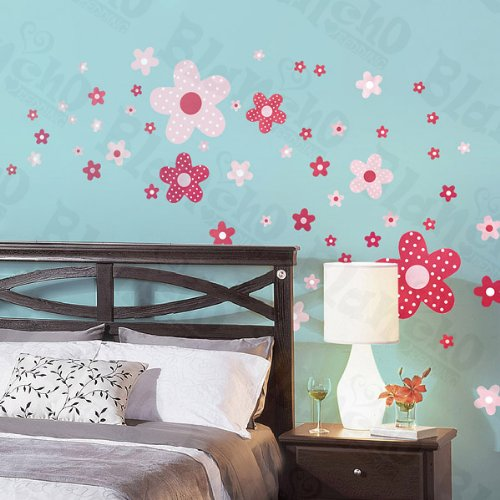 Pink Spot - X-Large Wall Decals Stickers Appliques Home Decor