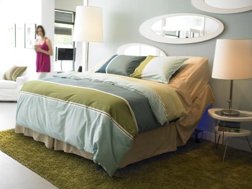 Interflex Bronze Electric Adjustable Bed -Dual King (Base Only)