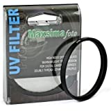 Maxsimafoto® - 52mm UV filter Protector for Panasonic FZ45 FZ47 FZ48 FZ60 FZ62 FZ100 FZ150 FZ200.