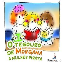O Tesouro de Morgana, a mulher pirata Audiobook by Giacomo Brunoro Narrated by  N.N.