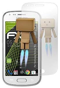 atFoliX Pellicola a specchio Samsung Galaxy Trend (GT-S7560) Protezione display - FX-Mirror con effetto specchio