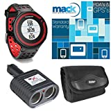 Garmin Forerunner 220 Black/Red Deluxe Bundle with Heart Rate Monitor