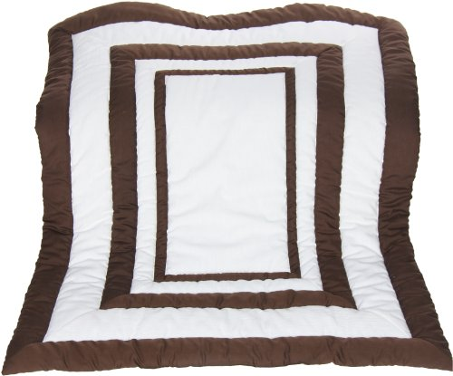 Review Of Baby Doll Modern Hotel Style Crib Comforter, Chocolate