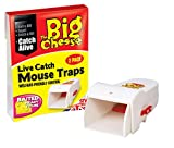 The Big Cheese Live Catch Ready To Use Mouse Traps - Twinpack