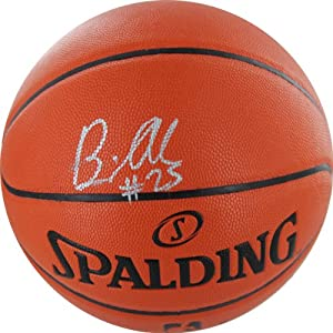 Buy NBA Charlotte Bobcats Al Jefferson Autographed Basketball, Brown by Steiner Sports