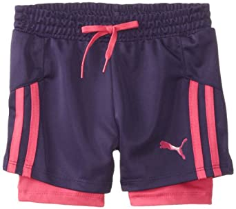 Buy PUMA Girls 2-6X Soccer Short with Tapping by PUMA