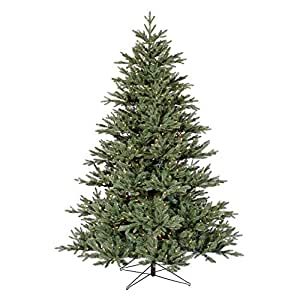 blue noble fir pre lit christmas tree
