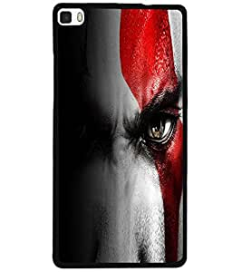 ColourCraft Eyes Design Back Case Cover for HUAWEI P8