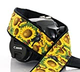 dSLR Camera Strap, Sunflowers and Blackbirds, SLR, Mirrorless 151