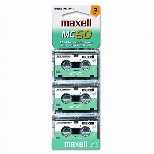 Maxell Micro Cassettes (Pack of 3) 0