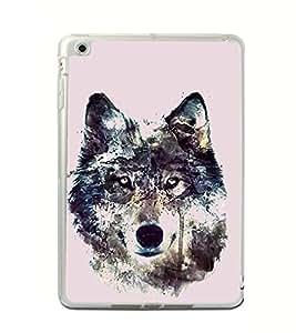 Fox 2D Hard Polycarbonate Designer Back Case Cover for Apple iPad Mini 4 :: Apple iPad Mini 2 :: Apple iPad Mini 2 Wi-Fi + Cellular :: Apple iPad Mini 3 :: Apple iPad Mini 3 Wi-Fi + Cellular