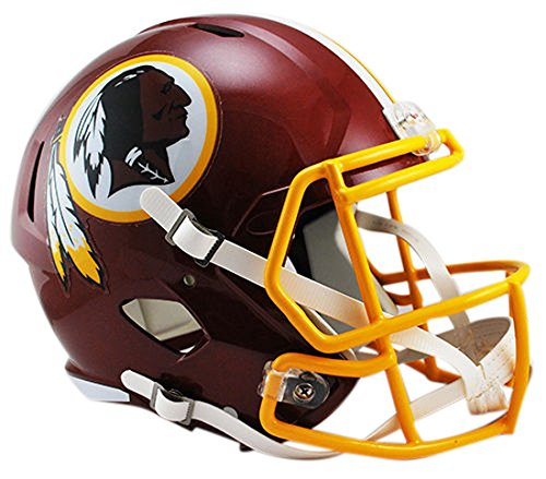Washington Redskins Deluxe Replica velocità casco