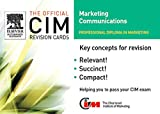 img - for CIM Revision Cards 05/06: Marketing Communications (Official CIM Revision Cards) book / textbook / text book