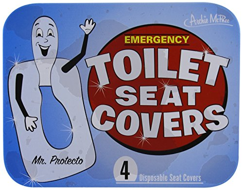 Accoutrements Emergency Toilet Seat Covers front-852860