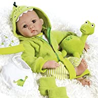 Paradise Galleries Realistic Newborn Baby Doll, My Little Dino & Rex, 18 inch in GentleTouch Vinyl