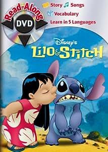 lilo amp stitch read along dvd amazon ca dvd dvd