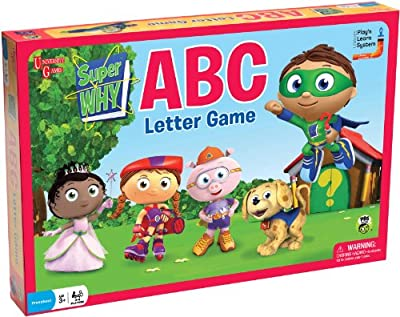 Super Why ABC Letter Game from University Games