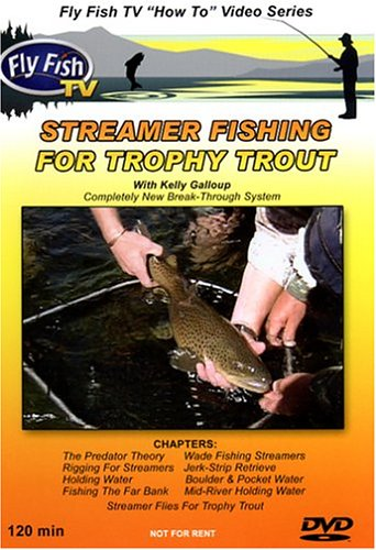 Streamer Fishing For Trophy Trout with Kelly Galloup (Streamers Dvd compare prices)